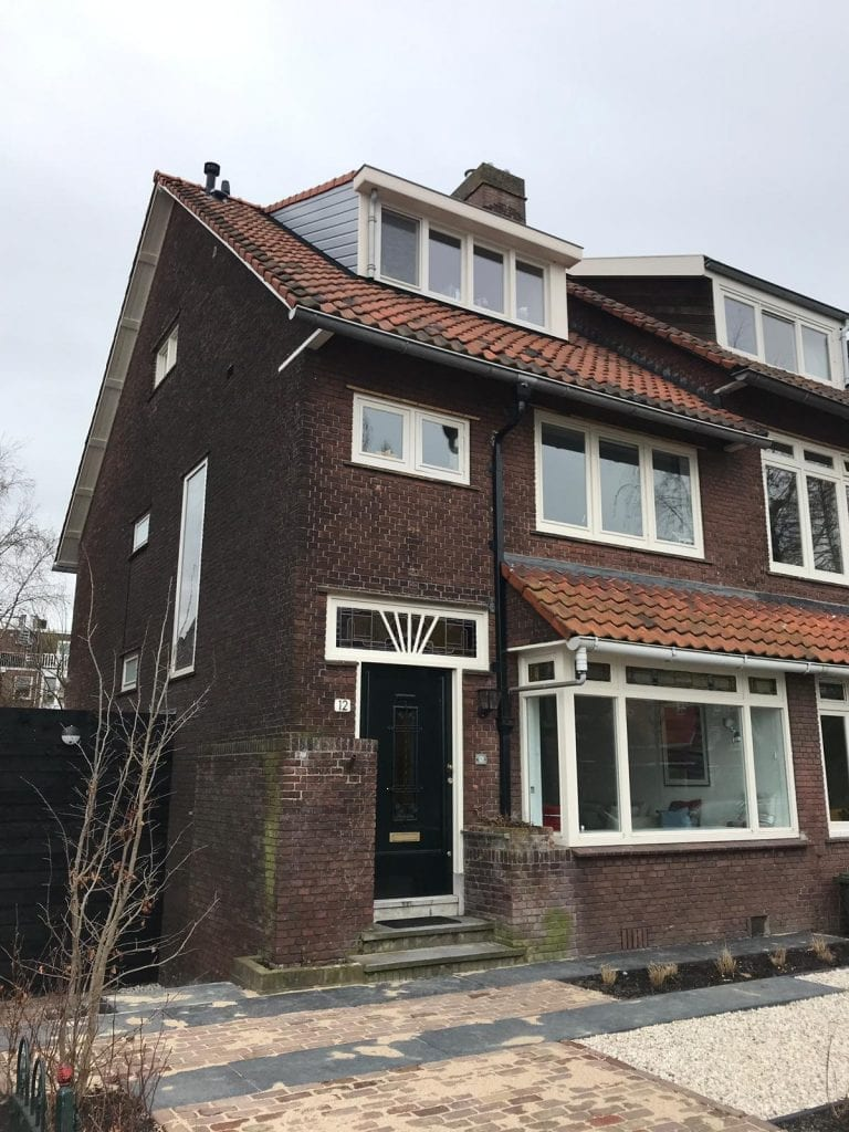 project verbouwing woonhuis rotterdam hillegersberg